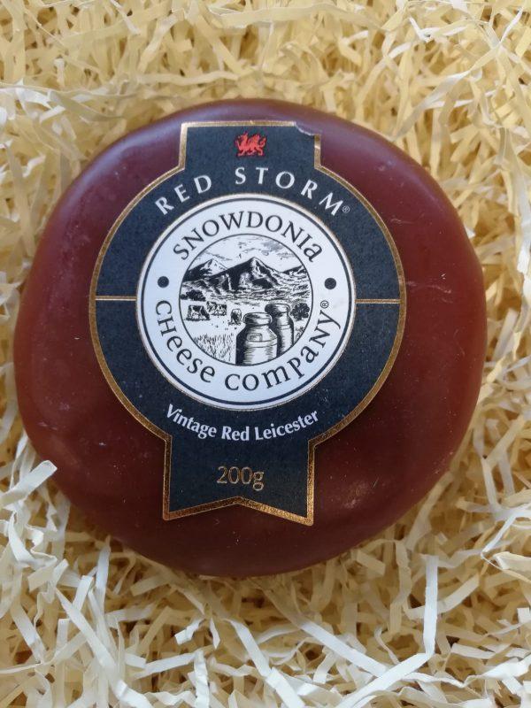 Snowdonia Red Storm