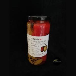 Odysea Flame Roasted Red & Yellow Peppers