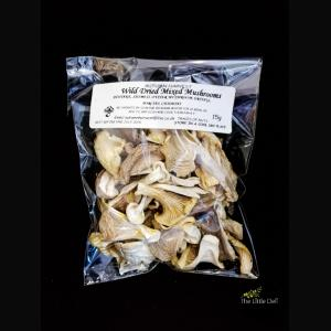 Autumn Harvest Wild Dried Mixed Mushrooms