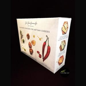 Fine Cheese Company Flavoured Crackers Selection Box